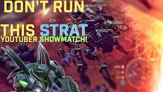 Halo Wars 2 - We made a bad decision... Youtuber Showmatch vs TeamRespawn - Game 1