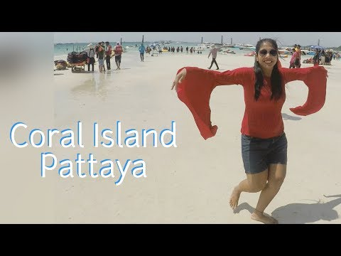 Coral Island Tour | Cost Of Parasailing And Sea Bed Walking In Pattaya|