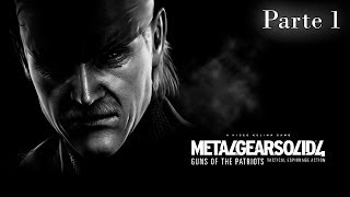 Metal Gear Solid 4 Guns of the Patriots Walkthrough - Parte 1 - Español (PS3 Gameplay HD)
