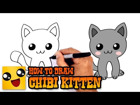 how-to-draw-a-kitten-|-drawing-lesson