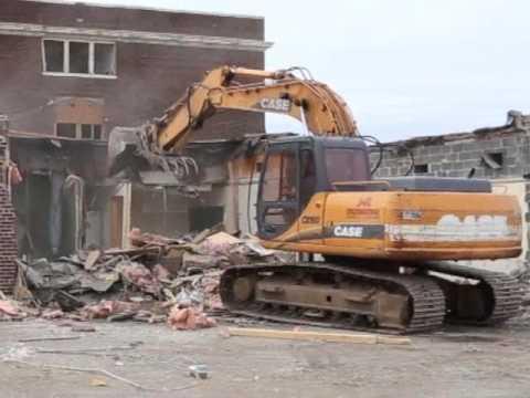 Former Hayward High School Demolished