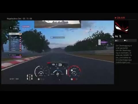 PS4  GT Sport live!Online 3Runden Nordschleife Profi 20startplatz
