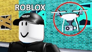 I Used a DRONE In The Roblox Office to Spy On Roblox..