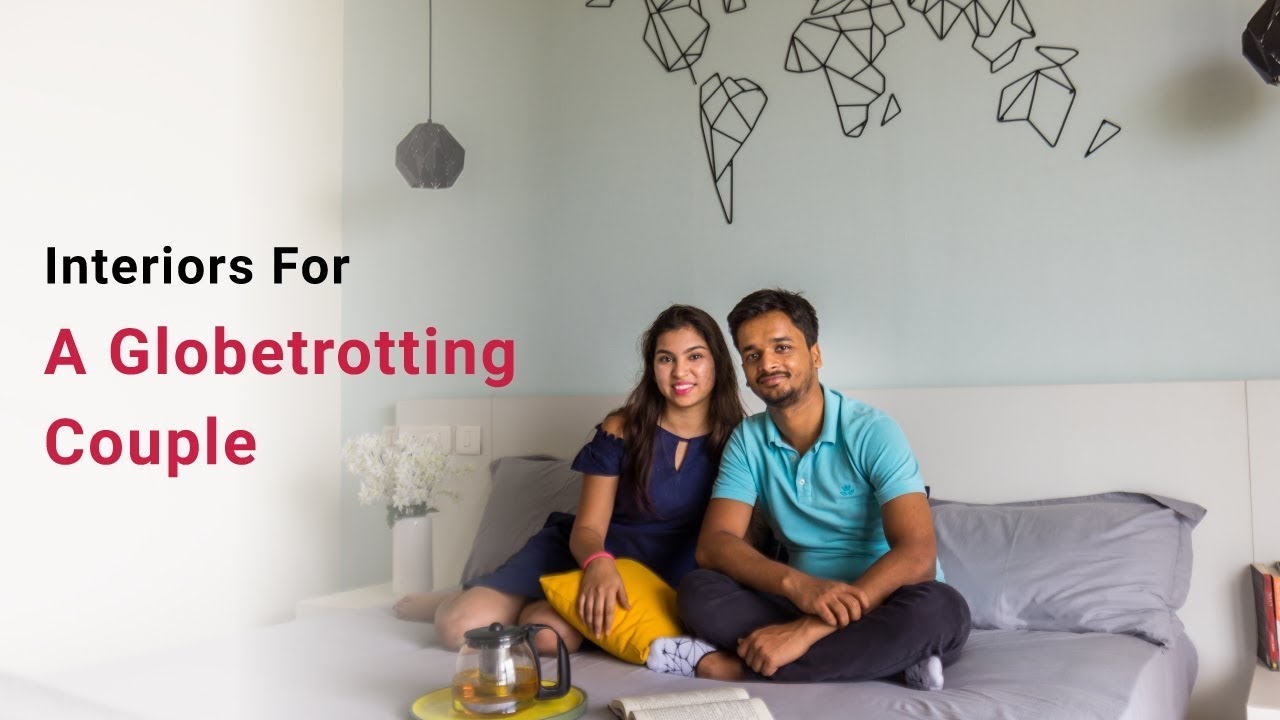 Interior Design In Bangalore For A Couple That Loves To Travel