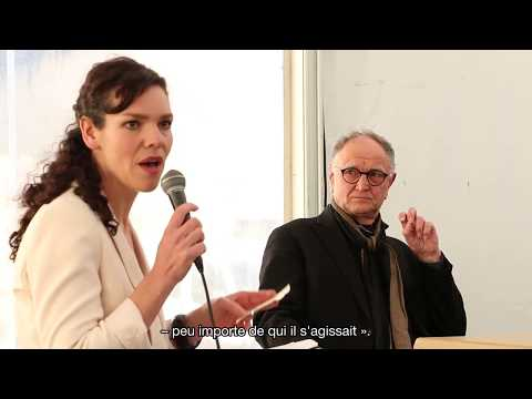 Performance du Jackson Pollock Bar : Victorine Meurend interroge Art & Language