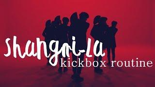 figcaption VIXX (빅스) Shangri-La Kickbox Workout