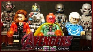 ЛЕГО Мстители 2 Эра Альтрона минифигурки марвел Китай Dargo Avengers 2: Age of Ultron