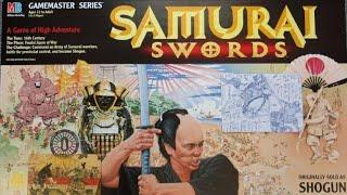 Ep 190: Samurai Swords aka Shogun Board Game Review (Milton Bradley 1995)