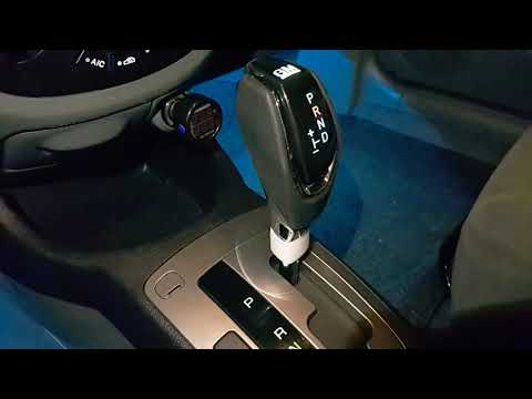 Gentra, тюнинг приборной панели, подсветка пространства ног,  замена ручки АКПП, установка часы 4in1