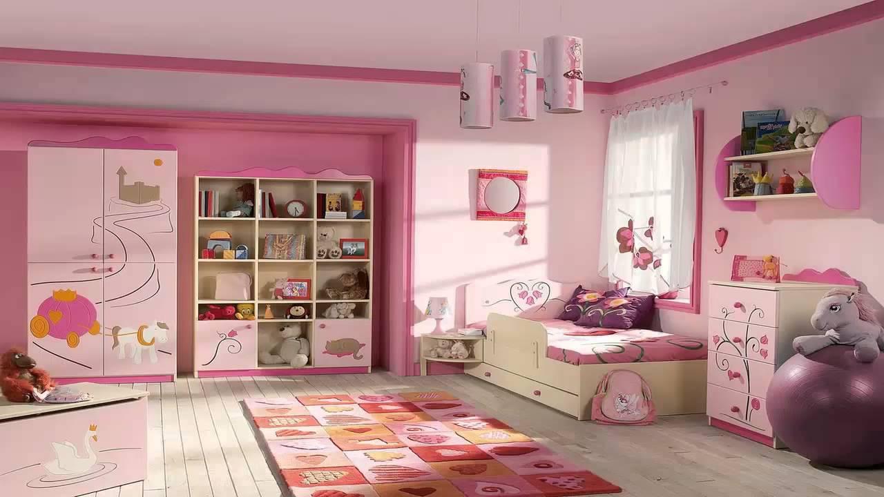 غرف نوم بنات وردية       YouTube