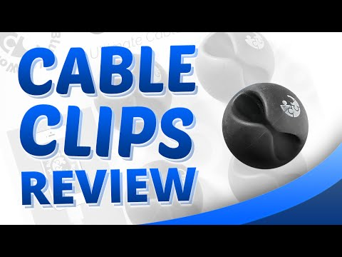 Cable Clips - Cable Management System