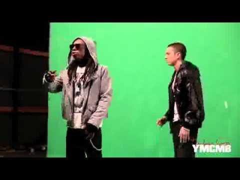 Eminem - No Love (Explicit Version) ft. Lil Wayne (BEHIND THE SCENES)
