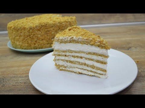 Медовый торт КОКЕТКА с вкуснейшим кремом / МЕДОВИК по-новому