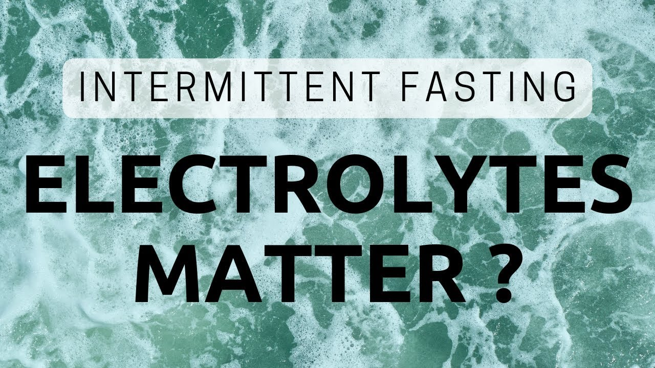 Should You Worry About Electrolytes While Intermittent Fasting ? | Dr. Jason Fung
