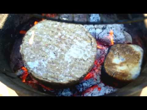 DIY paper log burn test