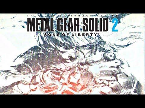 Metal Gear Solid 2 HD - Gameplay Walkthrough FULL GAME (All Cutscenes, All Bosses, Ending)