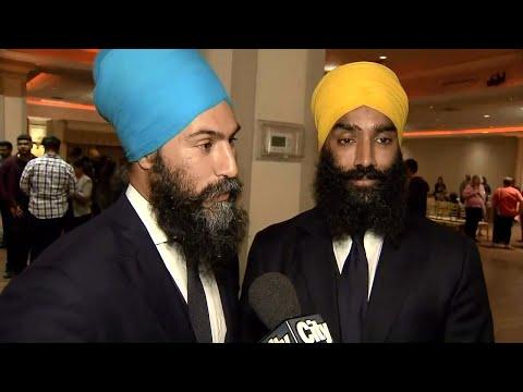 'Brampton is now an orange town' Gurratan & Jagmeet Singh on NDP win