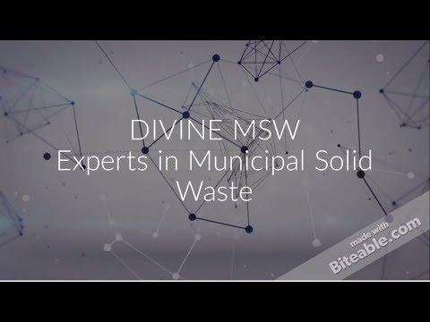 Divine: MSW Plastic To Oil