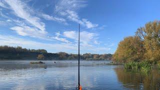 Рыбалка на Южном Буге в октябре: жерех, голавль и щука