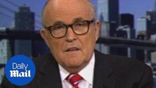 Giuliani says turning police backs on de Blasio is wrong - Daily Mail
