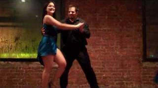 Cache Salsa Dance School Team- 2nd performance at the Holiday Party!