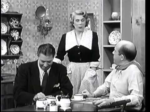 THE GEORGE BURNS and GRACIE ALLEN SHOW    Gracie Tries to Keep the Mortons from Moving  3rd Season )