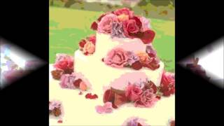 Detail Italian Weddinng Cream Cake 2015