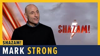 Mark Strong Talks SHAZAM!
