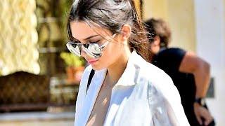 Kendall Jenner ose un énorme décolleté, presque seins nus dans les rues de Los Angeles