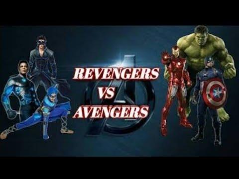 Avengers Vs Indian Heroes(Revengers)|krrish, Flying Jatt,g.One, Iron Man, Captain America, Hulk