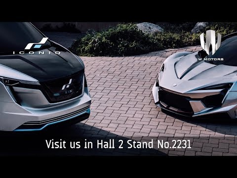ICONIQ Motors at Geneva Motor Show 2018