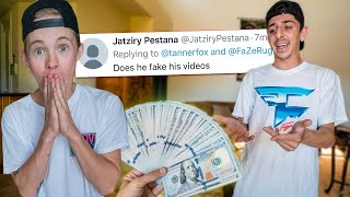 PAYING FAZE RUG TO TELL ME HIS DEEPEST SECRETS!!