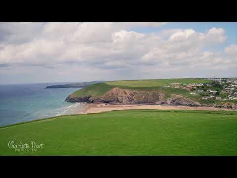 Wedding Drone - Mawgan Porth, Cornwall