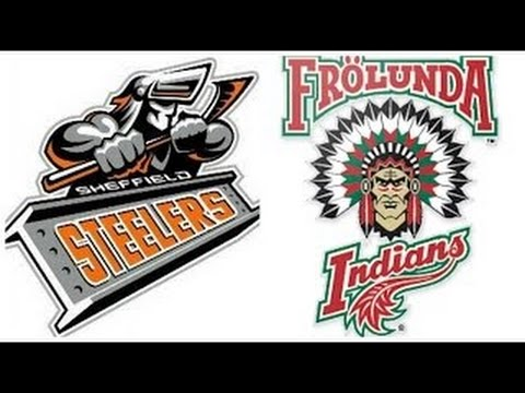 Sheffield Steelers in the CHL - Frolunda Gothenburg - Post M