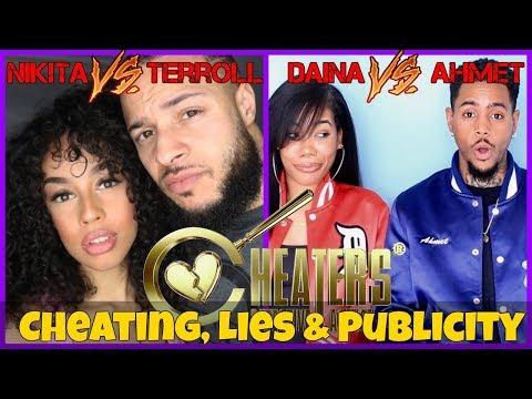 Nakita & Terroll Vs Daina & Ahmet: Cheating, Lies & Publicity.