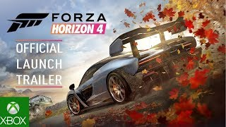 Forza Horizon 4 Official Launch Trailer. E3 2018. (HD XBOX 360 PC)
