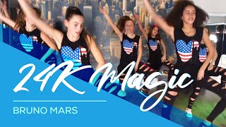 24K Magic - Bruno Mars - Easy Fitness Dance Kids Teens Choreografie Baile Bailar