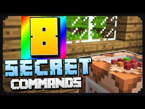 8 Secret Minecraft Commands You NEED to Try!
