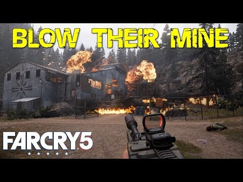 Blow Their Mine (Plant Explosives On Gold Crates In Catamount & Prevent Defusing Of Bomb) Far Cry 5