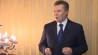 Полная версия выступления Виктора Януковича на канале UBR