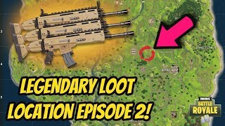 HOW TO GET A GOLD SCAR NEARLY EVERY TIME in FORTNITE BATTLE ROYALE! SCAR LOCATION in FORTNITE!