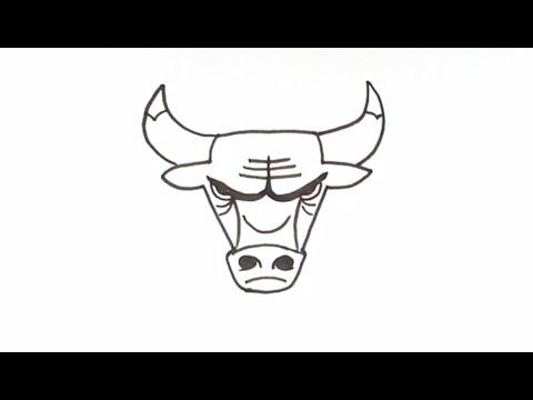Cómo dibujar Michael Jordan NBA Jersey Chicago Bulls | 3/8 - YouTube