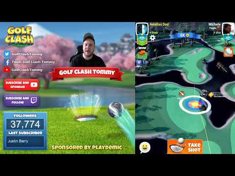 Golf Clash tips, Hole 2 - Par 5, Sunshine Glades - Easter Open Tournament - ROOKIE Guide