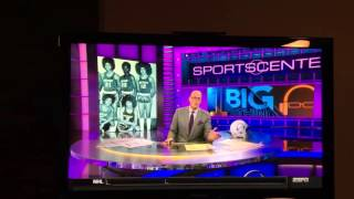 Scott Van Pelt eulogizing Prince on Sportscenter
