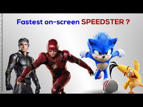 Fastest on-screen Speedster?