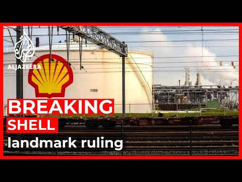 Oil giant Shell ordered to halve greenhouse gas emissions