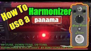 harmonizer pitch shifter