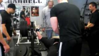 bench press accident terry gibson 675lbs bench shirt blow out 2 6 10