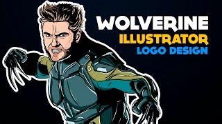 Wolverine / Illustrator / Illustration  / Logo Design