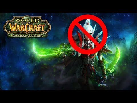 5 Most Undesirable Classes to play in World of Warcraft: Burning Crusade Classic
